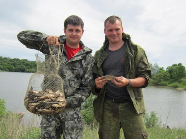 где хорошая рыбалка в курской области